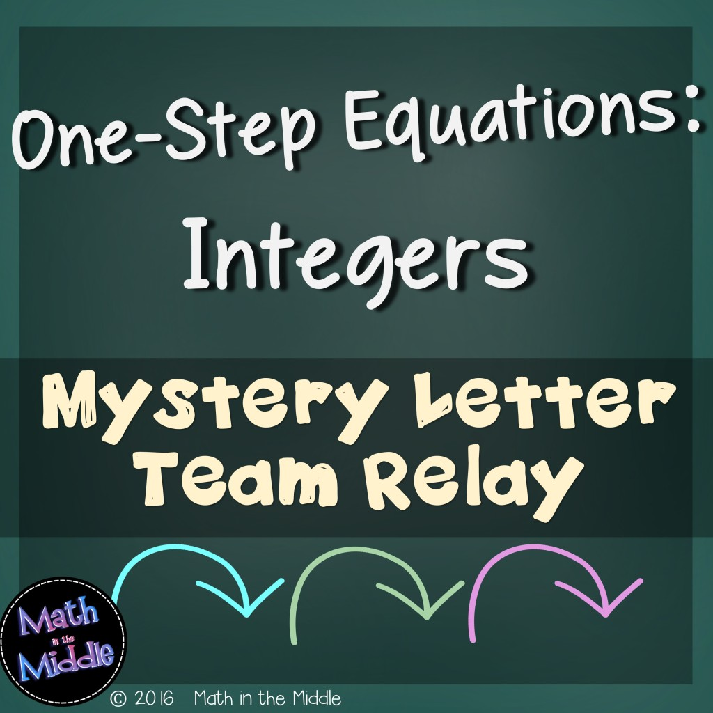 How To Do One Step Equations Integers