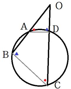 方べきの定理2