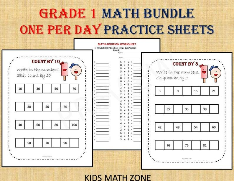 Grade 1 Math Worksheets Jamaica – Math Worksheets