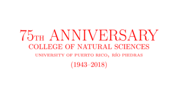 75th anniversary of the College of Natural Sciences