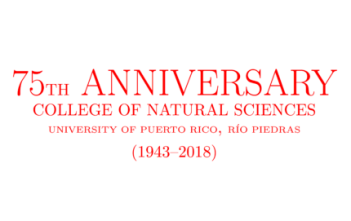 College of Natural Sciences anniversary banner