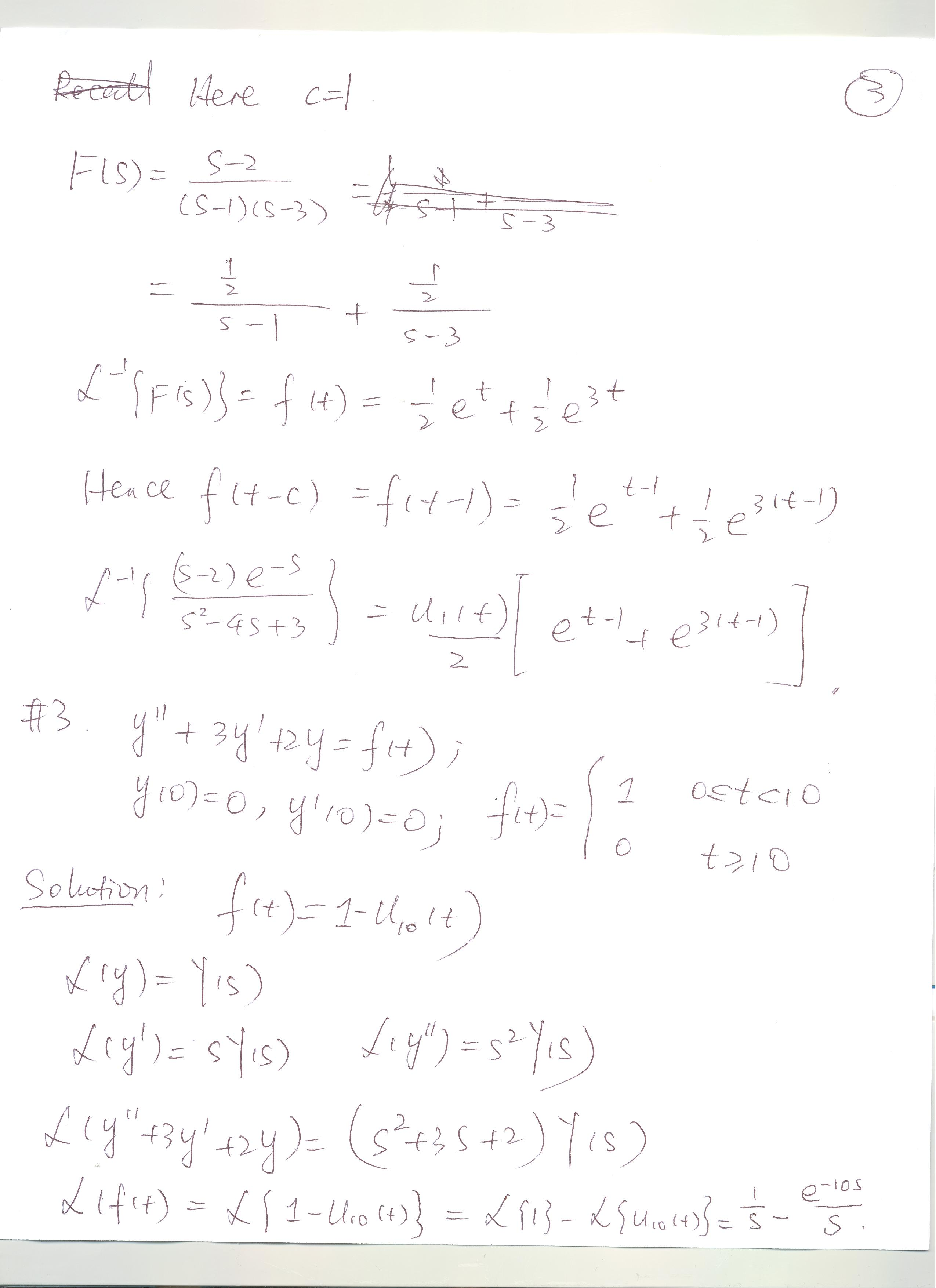 Solutions To Worksheet 8
