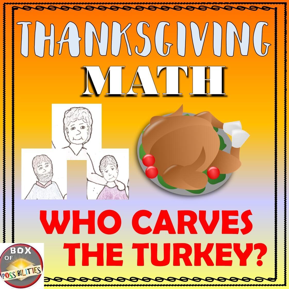 Thanksgiving Math Acitivity