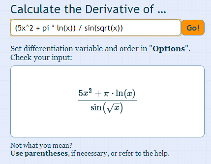 how to find the derivative of an integral calculator