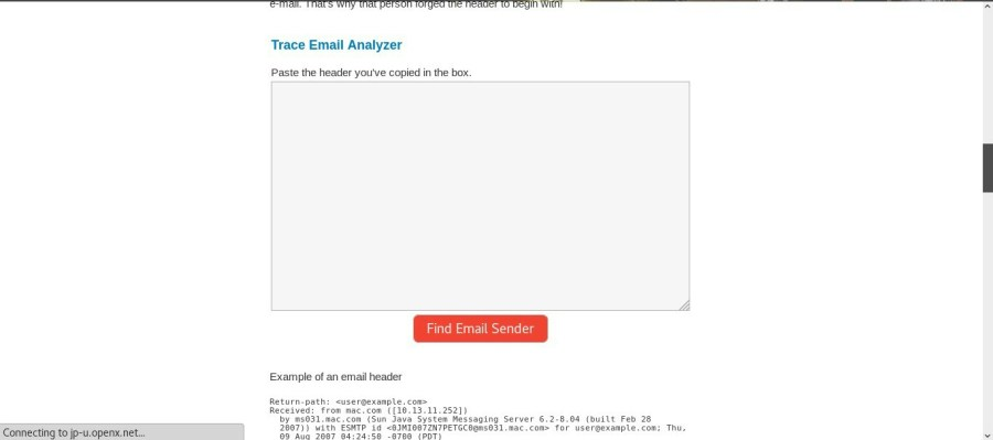 How To Track The Location Of Email Sender