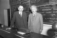 Richard Tolman and Albert Einstein