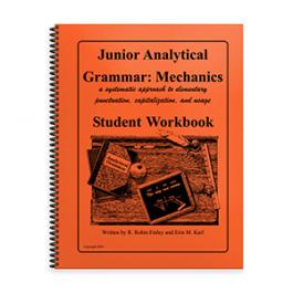 Junior Analytical Grammar Mechanics Student Workbook