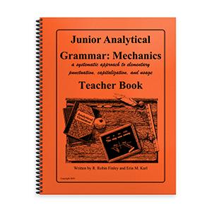 Junior Analytical Grammar Mechanics Teacher Book