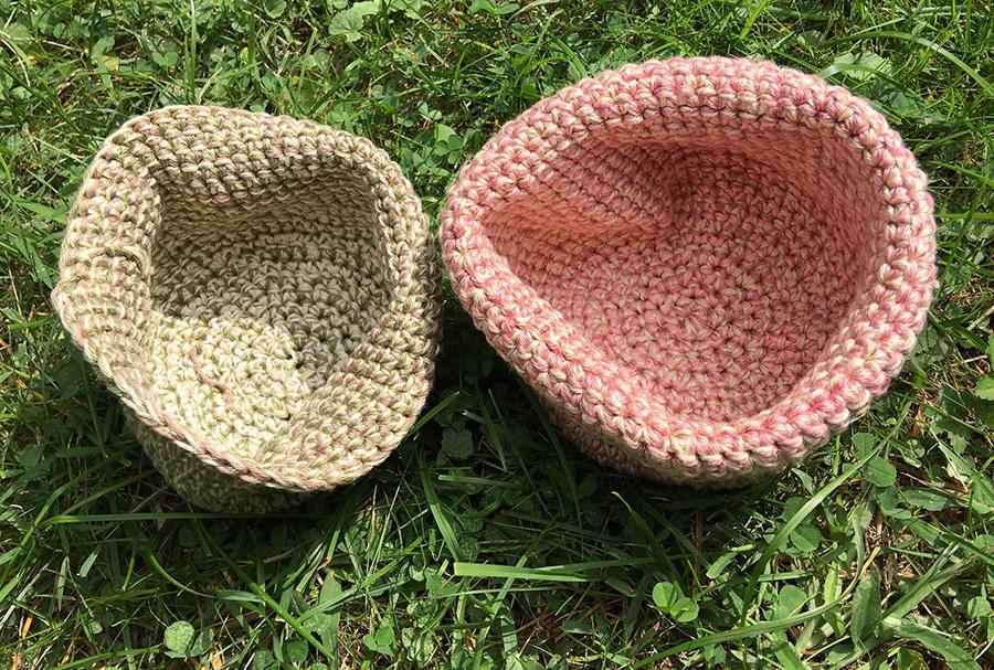 Baskets by Daina Taimina