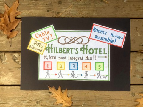Hilbert's Hotel Sign