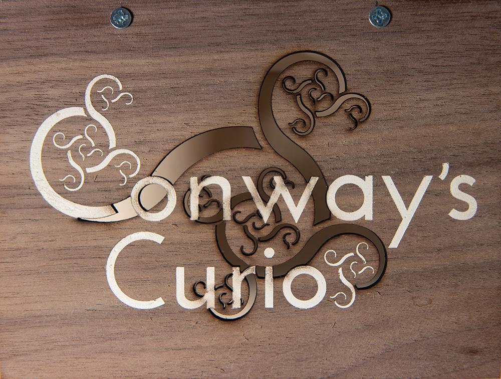 Conway's Curios Signby Edmund Harriss
