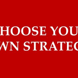 180 Ideas: #4 Choose your own Strategy