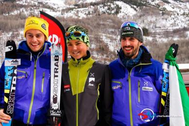 podium espoir vertical race