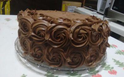 Fotos do Curso de Bolo de Chocolate