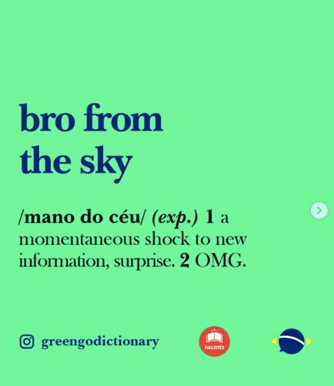 Greengo Dictionary – @greengodictionary