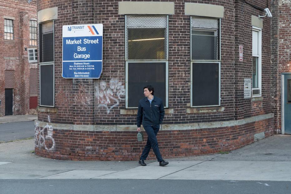 Foto: Adam Driver em 'Paterson', por Mary Cybulsky.