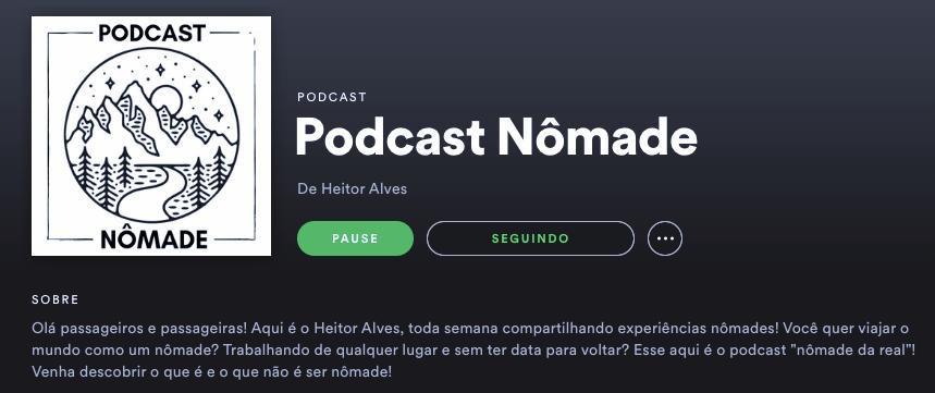 Podcast Nômade