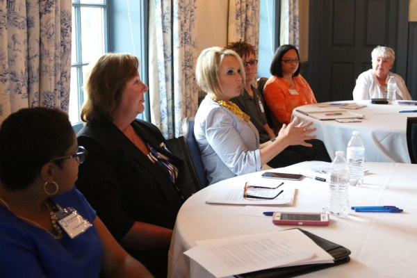 """Session attendees participated in an abbreviated deliberative forum, overviewed moderator practices and strategies, and engaged in conversations on Alabama's civic assets and challenges,"" says DMC Executive Director Cristin F. Brawner."