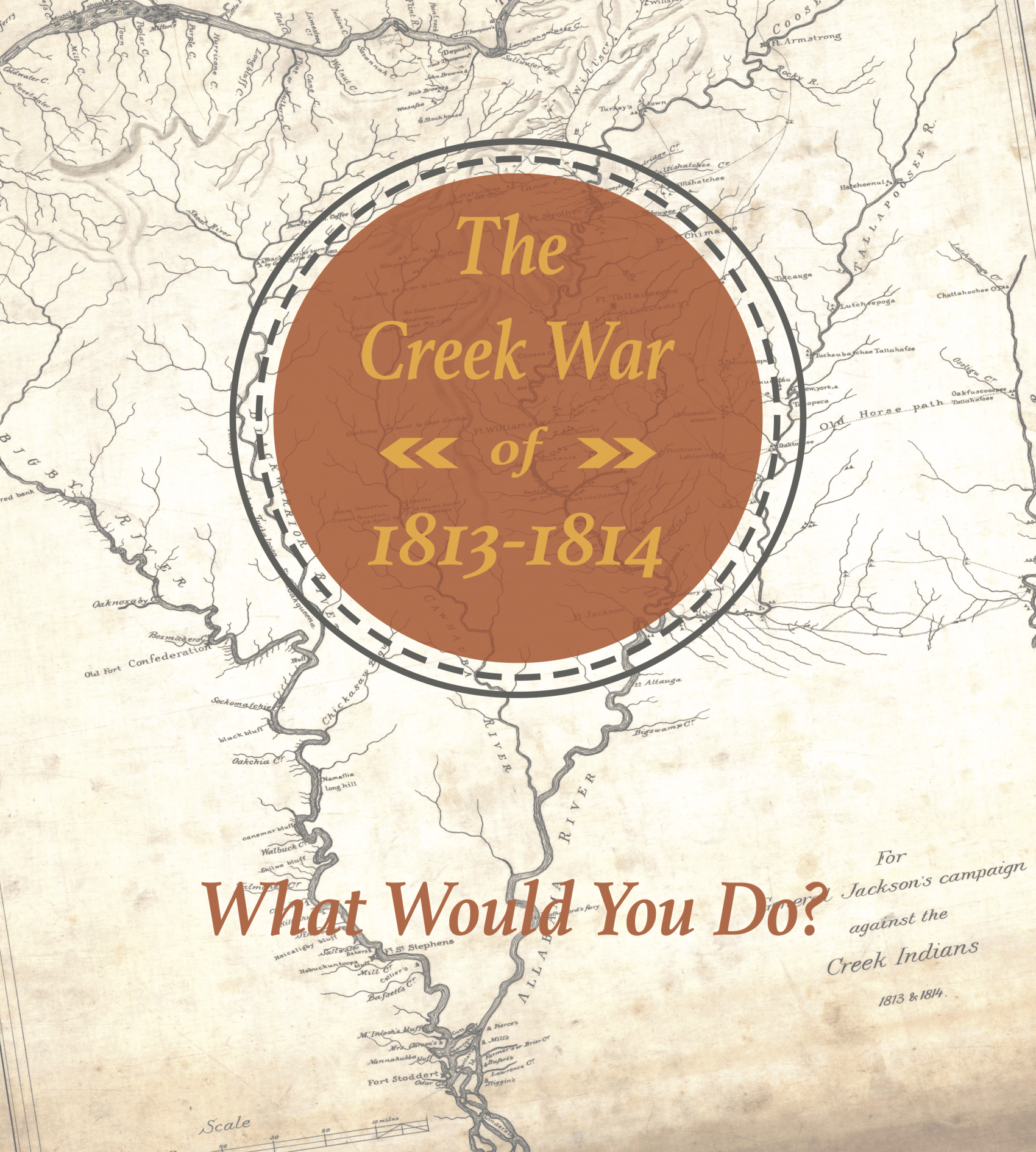 Front Cover of the Creek War Issue Guide