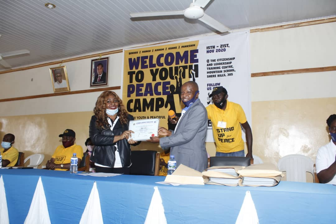 IGSR Youth Peace Camp V 497 Plateau Youths Inducted As Youth Peace Ambassadors (Photos) (8)