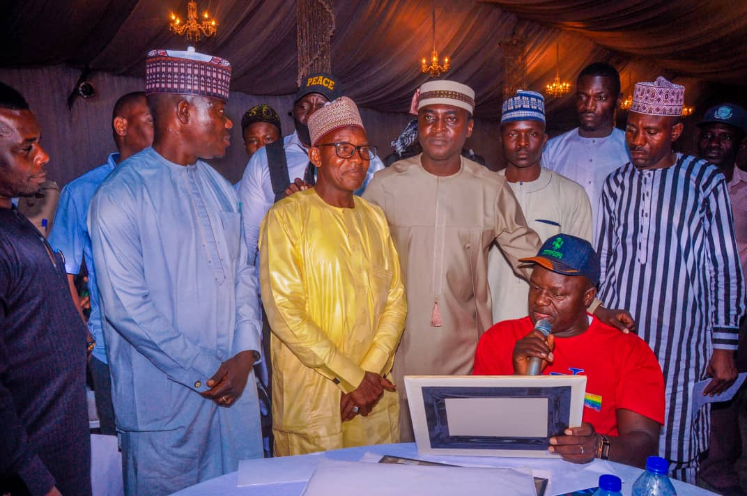 Plateau Excellence Award Bello Lukman's Book launch (11)