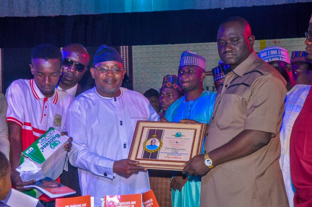 Plateau Excellence Award Bello Lukman's Book launch (8)