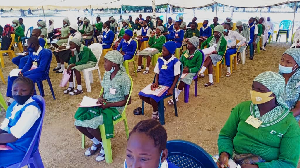 Institute of Governance and Social Research TRAINS 1,960 SECONDARY SCHOOL STUDENTS AND TEACHERS IN PLATEAU (2)