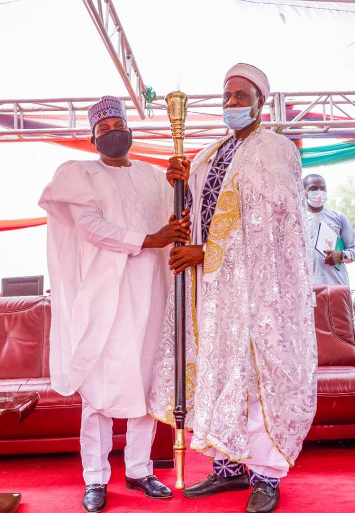 GOVERNOR LALONG INSTALLS 2 TRADITIONAL RULERS IN WASE (1)