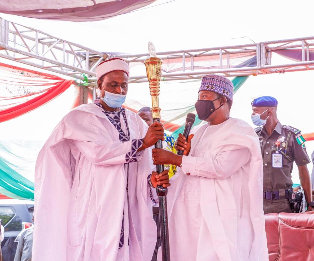 GOVERNOR LALONG INSTALLS 2 TRADITIONAL RULERS IN WASE (3)