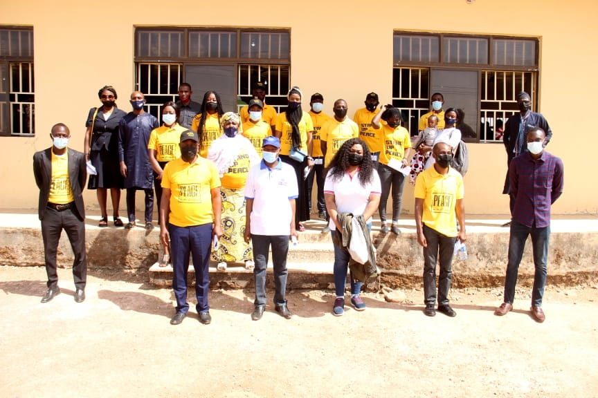 IGSR trains 500 Youth from Plateau Central at the Youth Peace Camp to Prevent Violent Extremism (1)