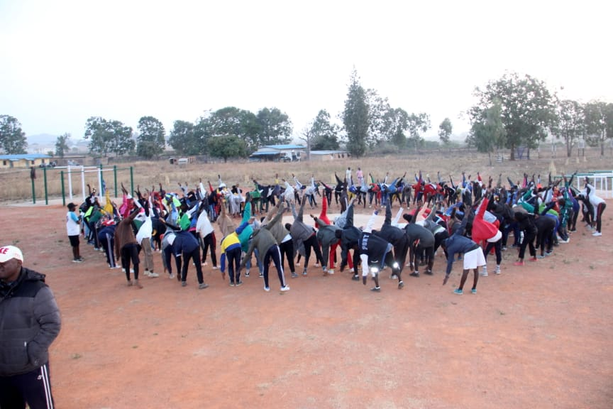 IGSR trains 500 Youth from Plateau Central at the Youth Peace Camp to Prevent Violent Extremism (11)