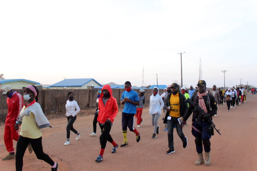 IGSR trains 500 Youth from Plateau Central at the Youth Peace Camp to Prevent Violent Extremism (12)