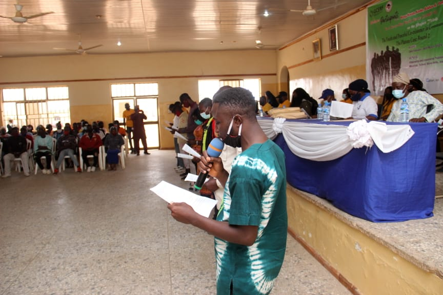 IGSR trains 500 Youth from Plateau Central at the Youth Peace Camp to Prevent Violent Extremism (14)