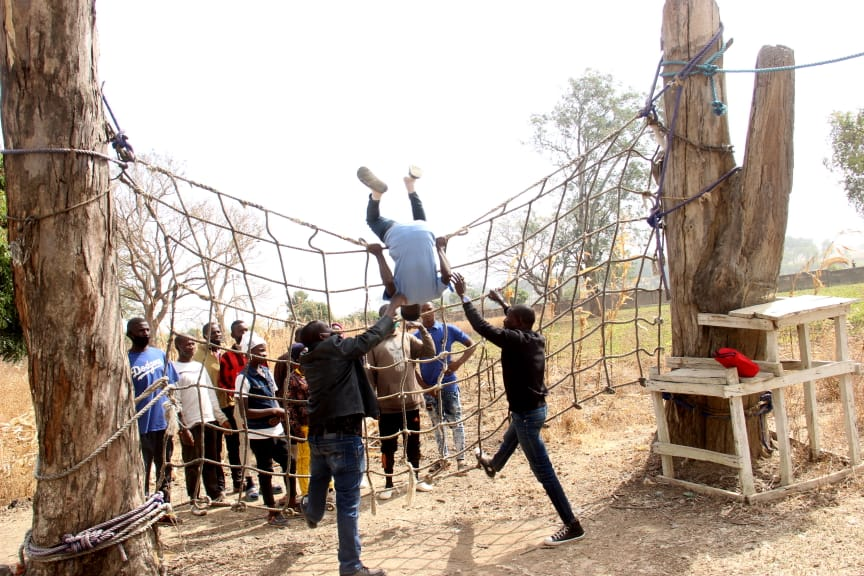 IGSR trains 500 Youth from Plateau Central at the Youth Peace Camp to Prevent Violent Extremism (4)
