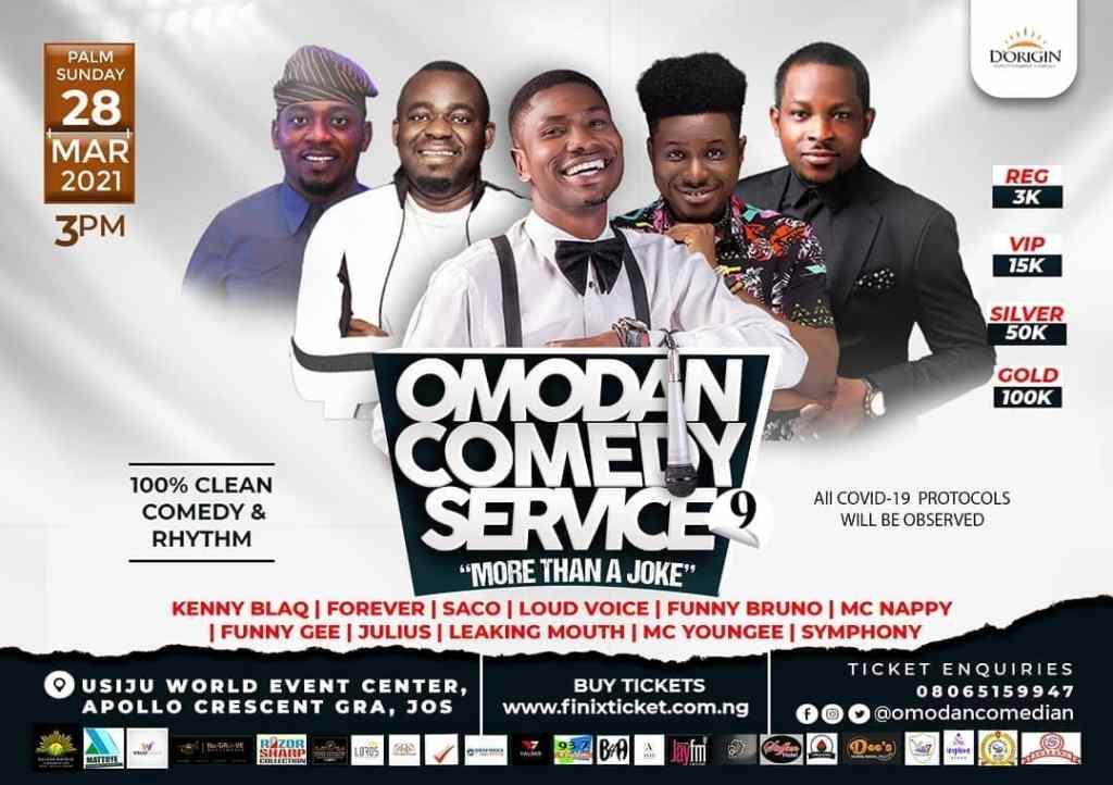 OMODAN Comedy Service 9