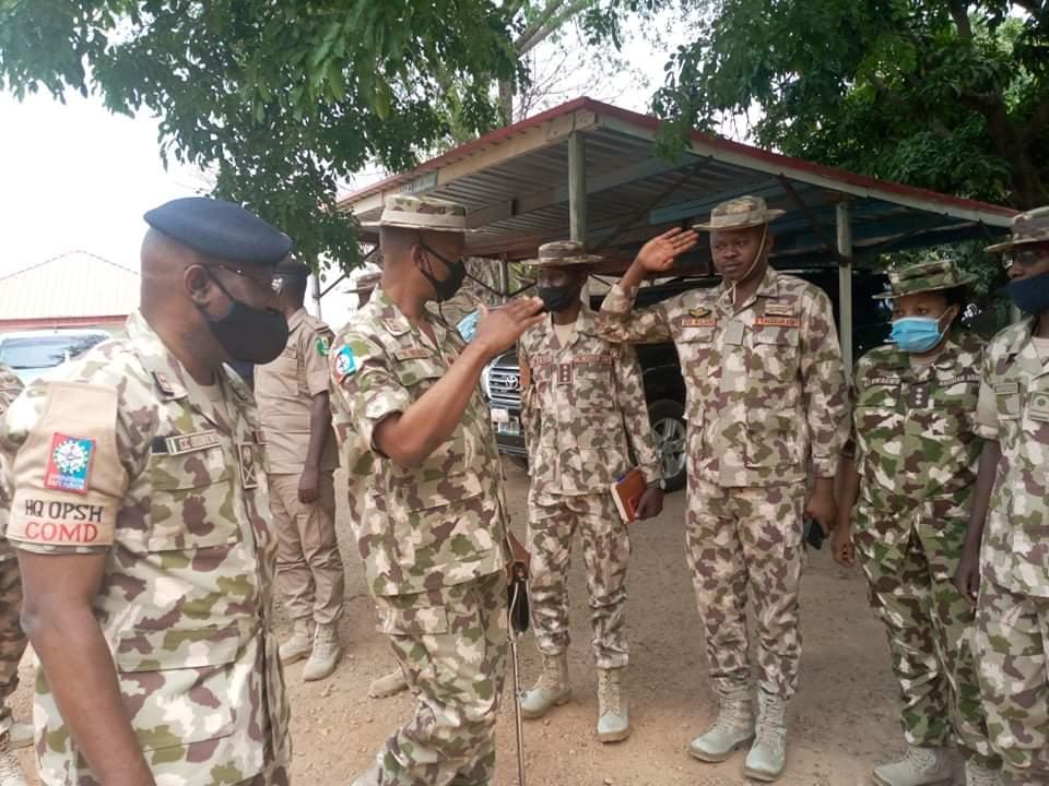 Operation Safe Haven Gets New Commander, Maj. Gen. Dominic Onyemulu (1)