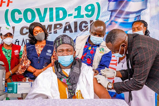 Plateau Gov Lalong, Tyoden, others receive COVID-19 vaccine (2)