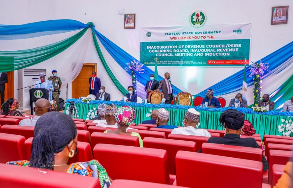 Plateau Targets Higher Revenues, Inaugurates Revenue Council Pirs Governing Board (1)