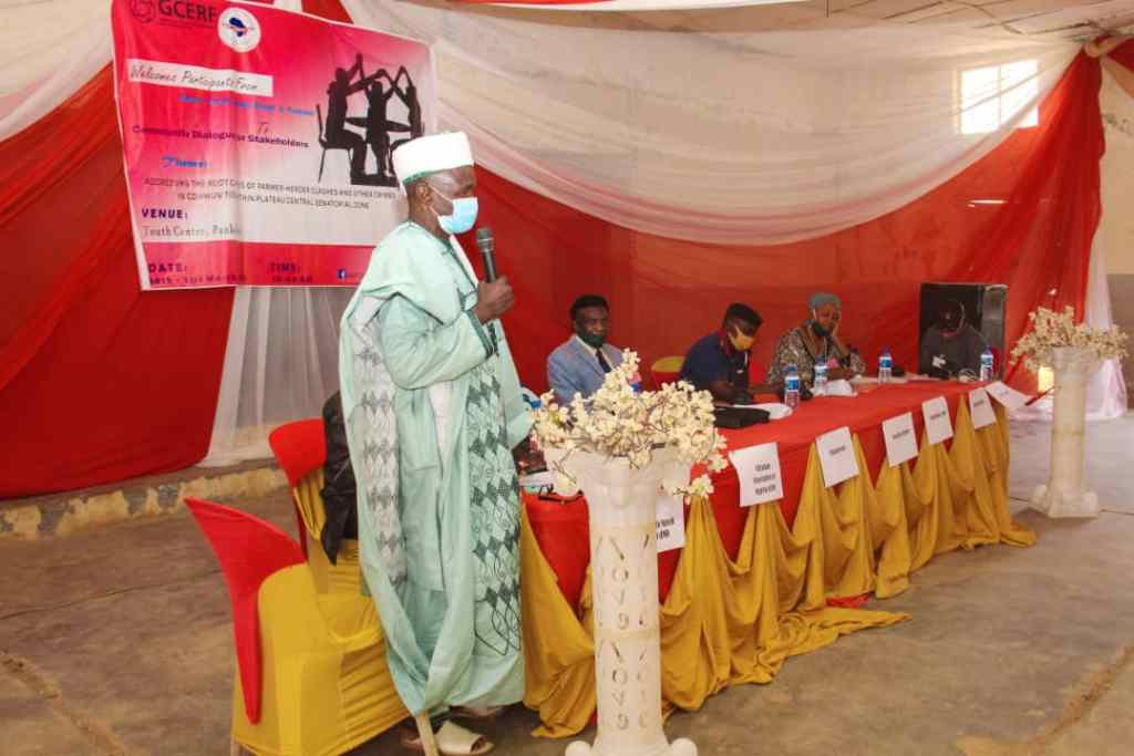 Farmer-Herder Clashes IGSR holds community Dialogue with stakeholders in Plateau 4