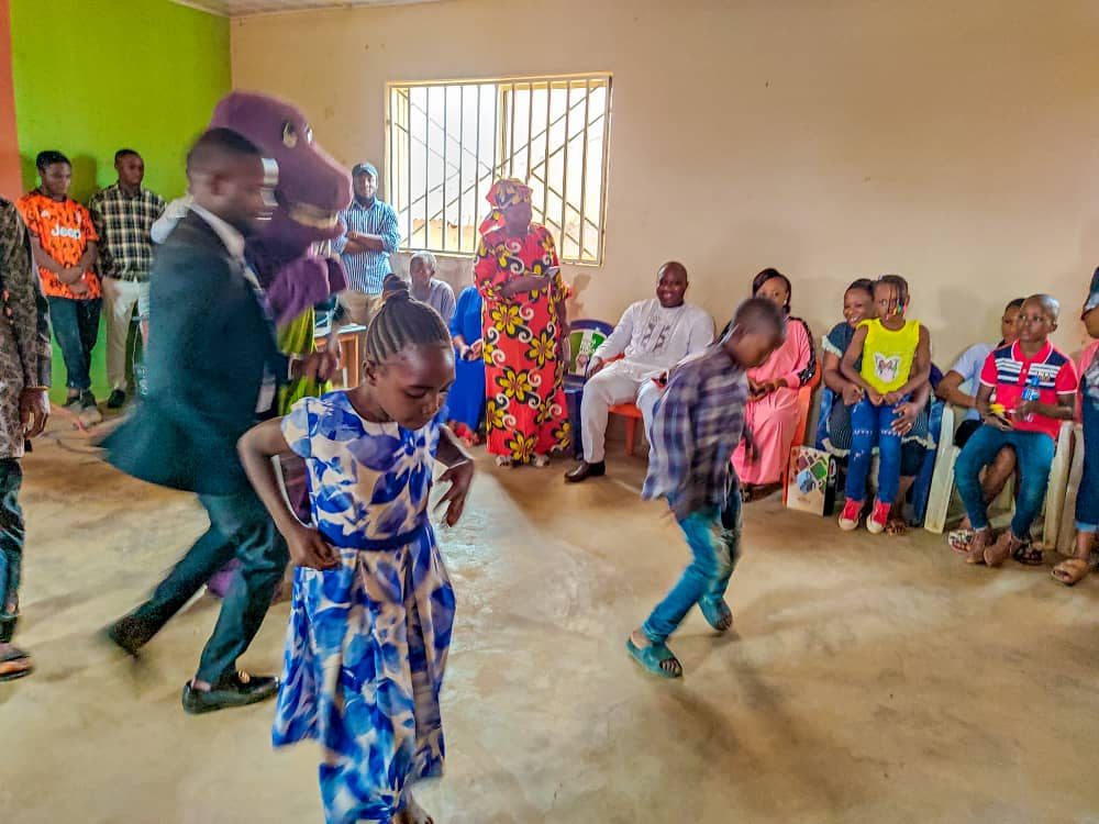 Godwin Okoko gifts 10 Plateau orphan children scholarship in Bassa LGA as he marks birthday 1