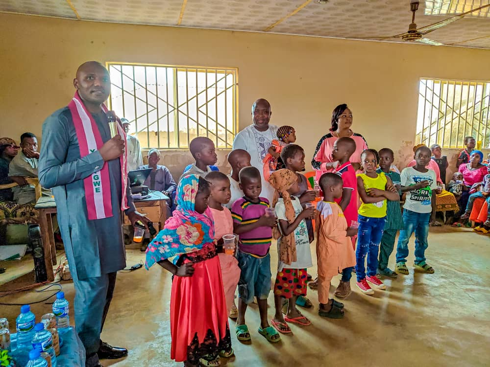 Godwin Okoko gifts 10 Plateau orphan children scholarship in Bassa LGA as he marks birthday 7