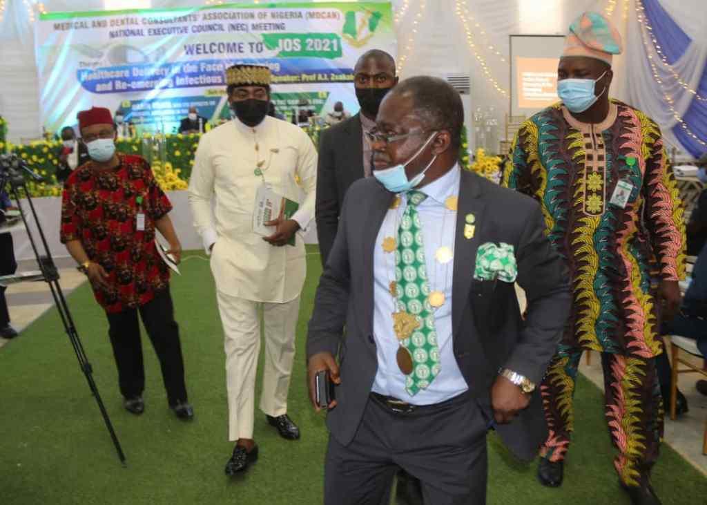 Medical & Dental Consultants Association of Nigeria MDCAN meet in Jos Plateau 2