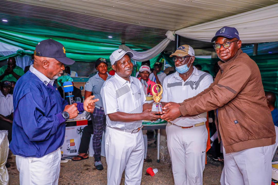 Sports Minister, Golf Community Honour Governor Lalong @58