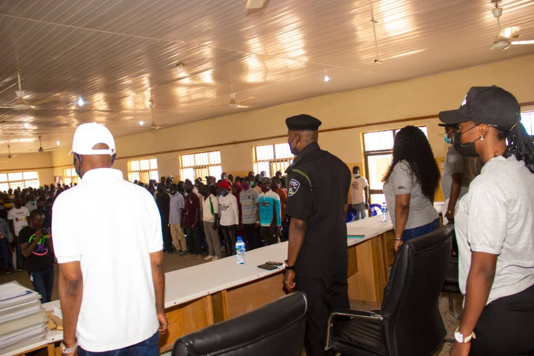 500 Youth from Plateau Central Senatorial Zone Trained by IGSR on Prevention of Violent Extremism 11