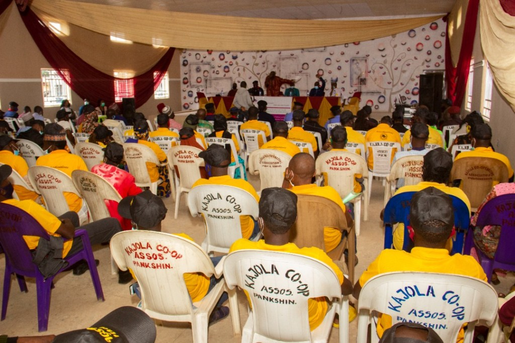 IGSR Organises Early Warning Seminar for 250 Youth Peace Ambassadors and Community Members in Plateau Central Senatorial Zone 2