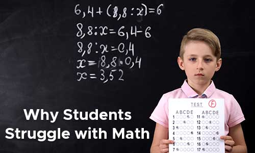students struggle with math