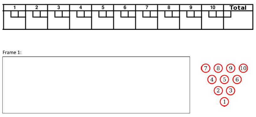 graphic regarding Order of Operations Game Printable known as Obtain of Surgical treatment Bowling