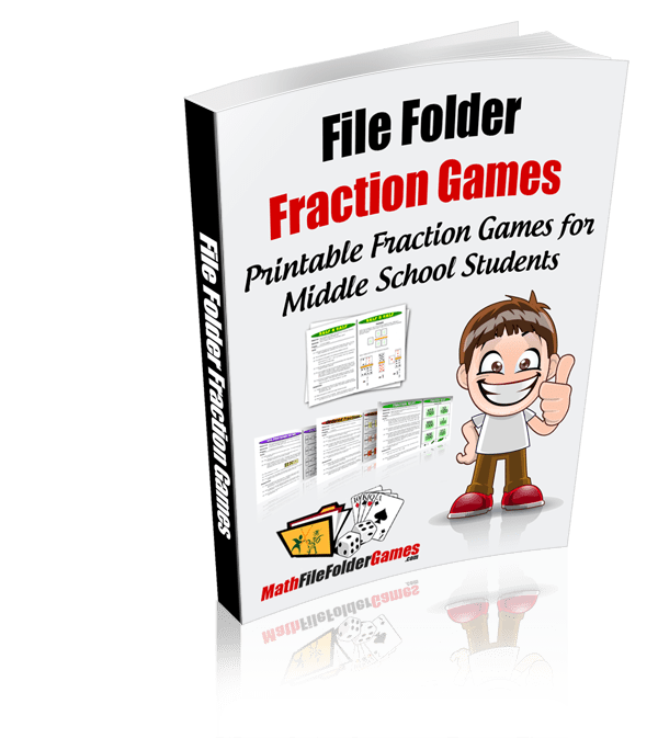 File Folder Fraction Games