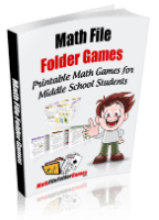 Printable math games