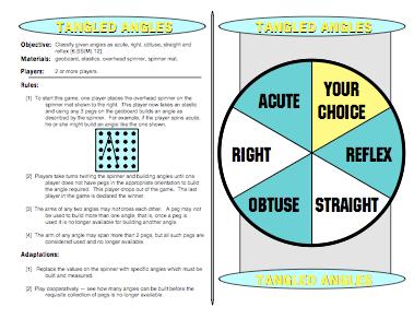 Tangled Angles